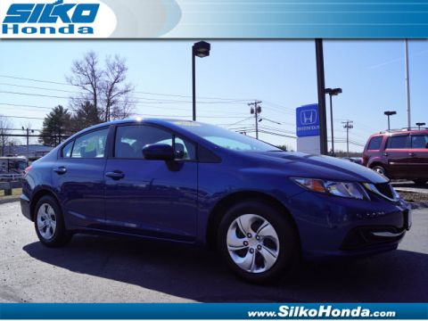 Certified Pre-Owned 2014 Honda Civic LX FWD LX 4dr Sedan CVT