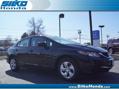 Certified Pre-Owned 2015 Honda Civic LX FWD LX 4dr Sedan CVT