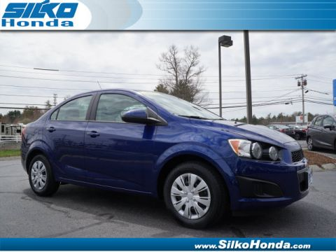 Used Chevrolet Sonic LS Manual