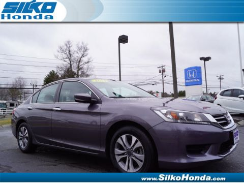 Certified Pre-Owned 2014 Honda Accord LX FWD LX 4dr Sedan 6M