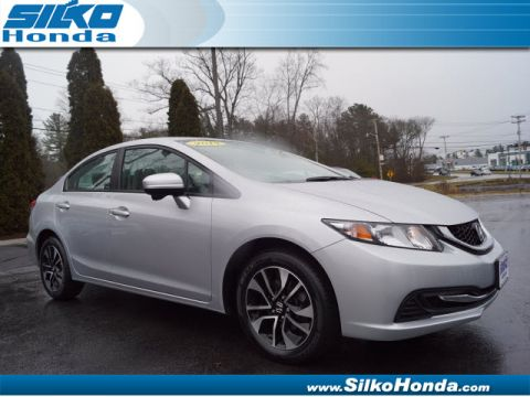 Certified Pre-Owned 2014 Honda Civic EX FWD EX 4dr Sedan
