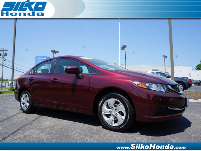 Certified used 2015 honda civic lx lx 4dr sedan cvt near for Certified used honda civic