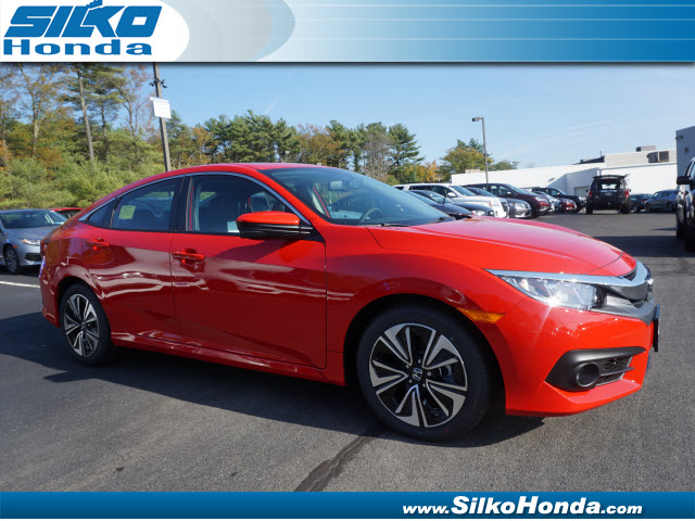 new 2017 honda civic ex l ex l 4dr sedan near brockton 27247 silko honda. Black Bedroom Furniture Sets. Home Design Ideas