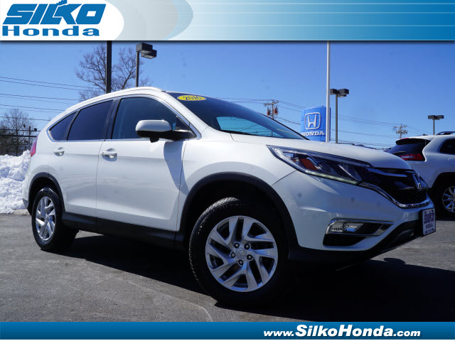 Certified used 2016 honda cr v awd ex l 4dr suv near for Certified pre owned honda pilot 2016